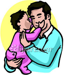 254x300 Kiss Daddy Goodnight Clipart