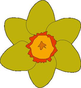 273x298 Yellow Flower Clip Art