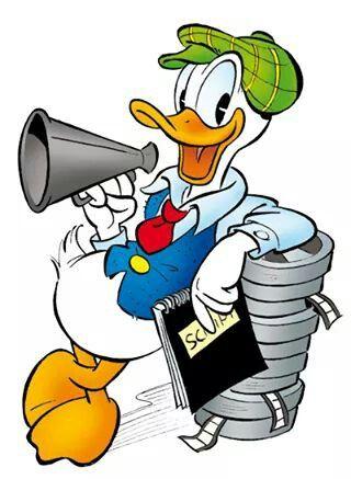 320x437 Donald As A Director Donald Duck Amp Daisy Duck