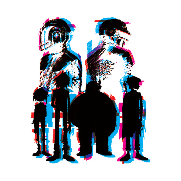 630x630 Daft Punk X Gorillaz Now Available!