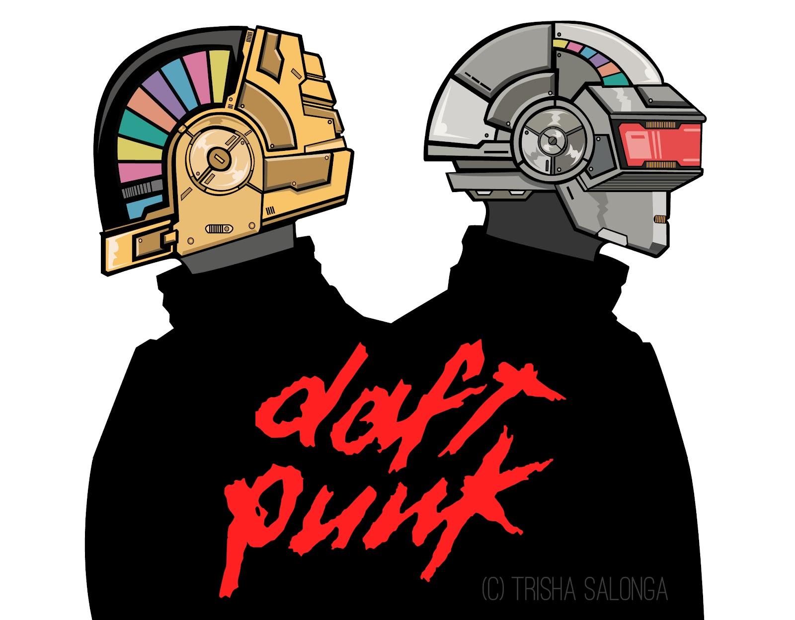 1600x1249 Mushroom Head Hello Productivity! Daft Punk