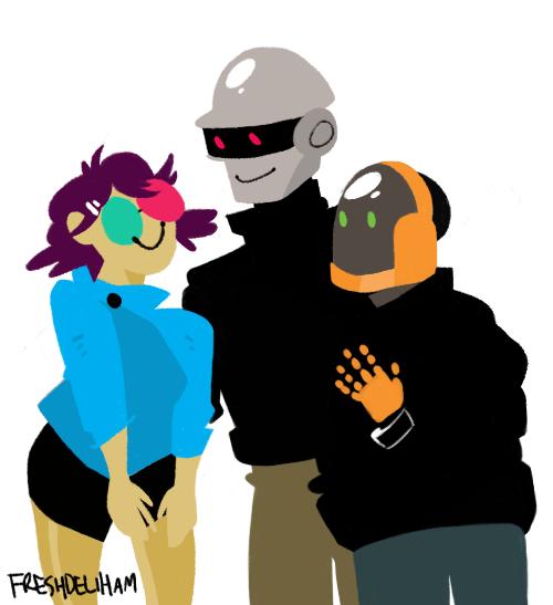 500x547 Daft Punk Cute Tumblr
