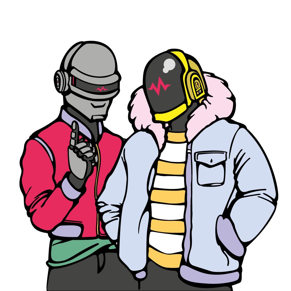 945x945 Daft Punk