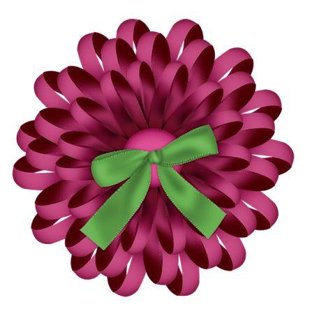 Dahlia Flower Clipart