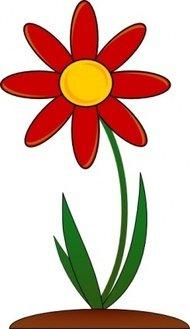 190x329 Red Flower Petal Clip Art Download 1,000 Clip Arts