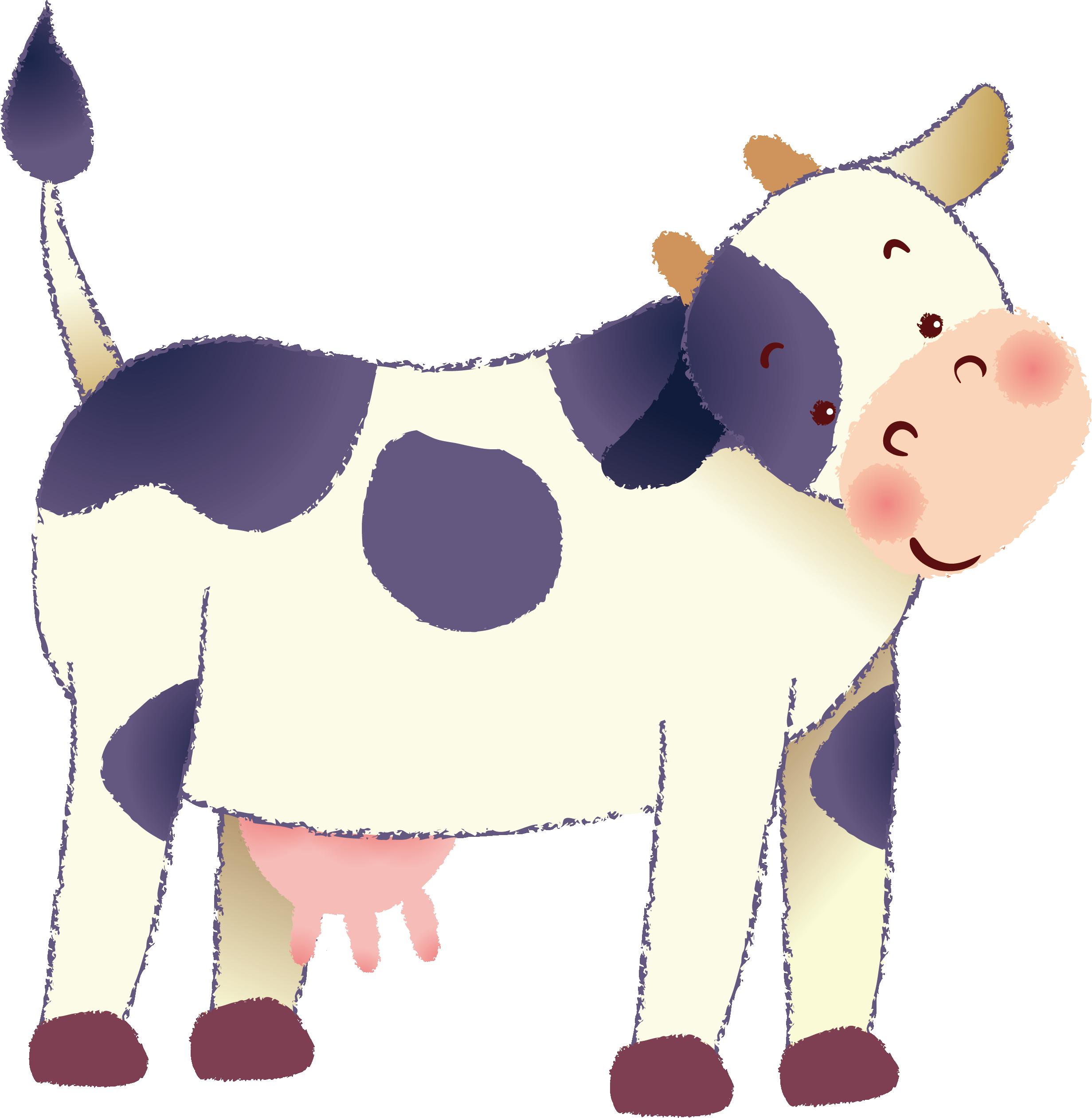 2463x2521 Dairy Cattle Euclidean Vector Clip Art
