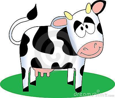 400x339 Cartoon Cow By Mkoudis, Via Dreamstime Paper Mache Cows