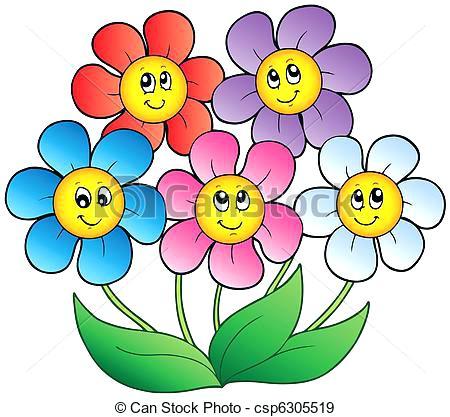 450x417 Cartoon Flower Clip Art Rose Cartoon Flower Library Cartoon Flower