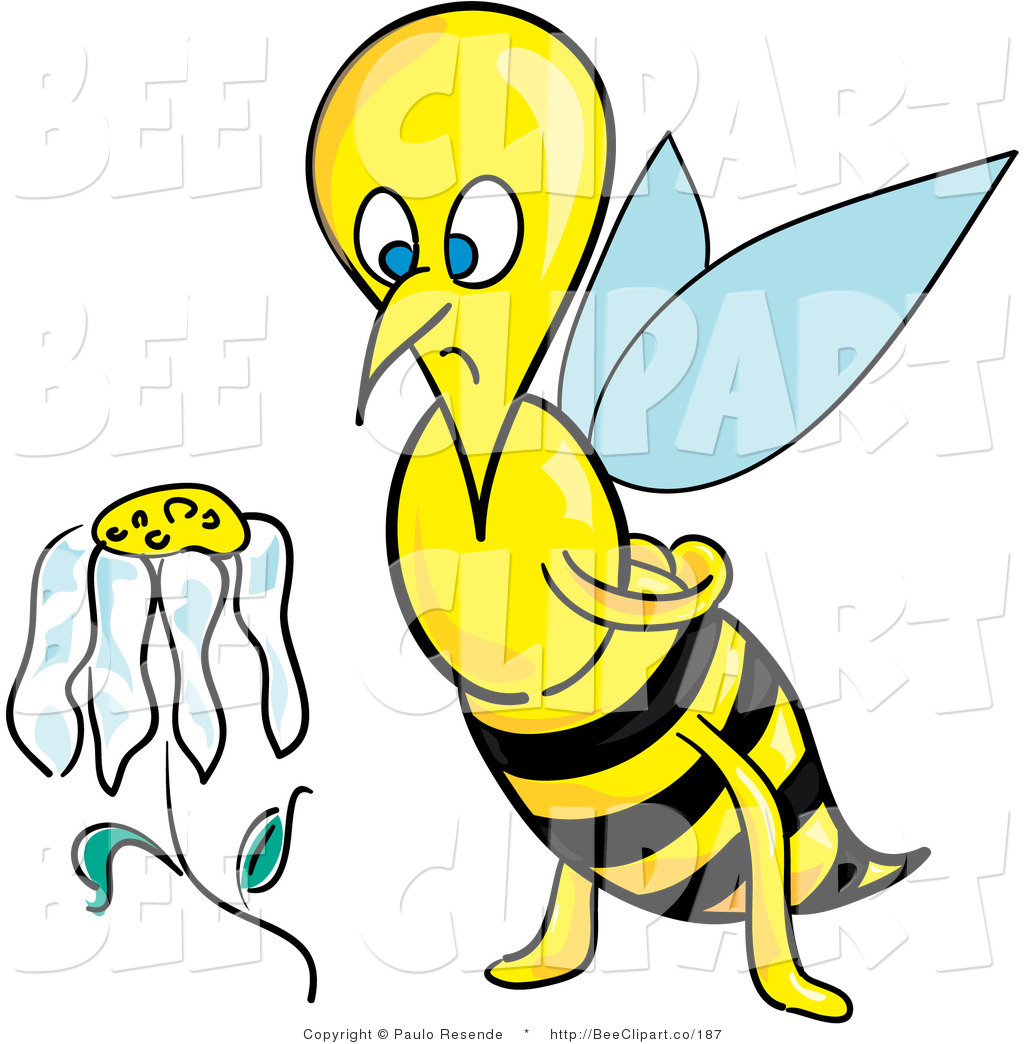 Daisy flower clipart at getdrawings free for personal use 1024x1044 clip art of a sad and depressed honeybee staring izmirmasajfo