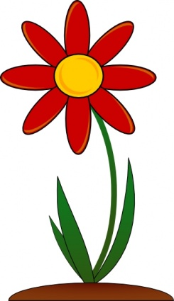 Daisy flower clipart at getdrawings free for personal use 245x425 spring flowers clipart clipart panda mightylinksfo