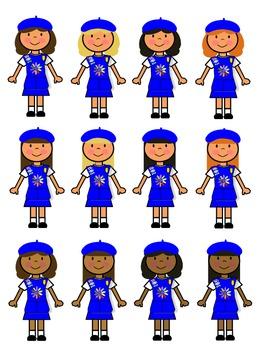 263x350 Daisy Girl Scout Clip Art By Girl Scout Store Teachers Pay Teachers