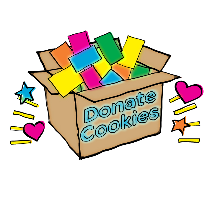 711x676 Breathtaking Girl Scout Cookies Clipart Cookie Sellers Scouts San