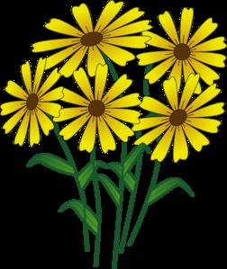252x299 Daisy Bunch Clip Art Flower Cliparts Clip Art