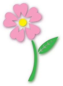 220x300 Daisy Clipart Flower Stem