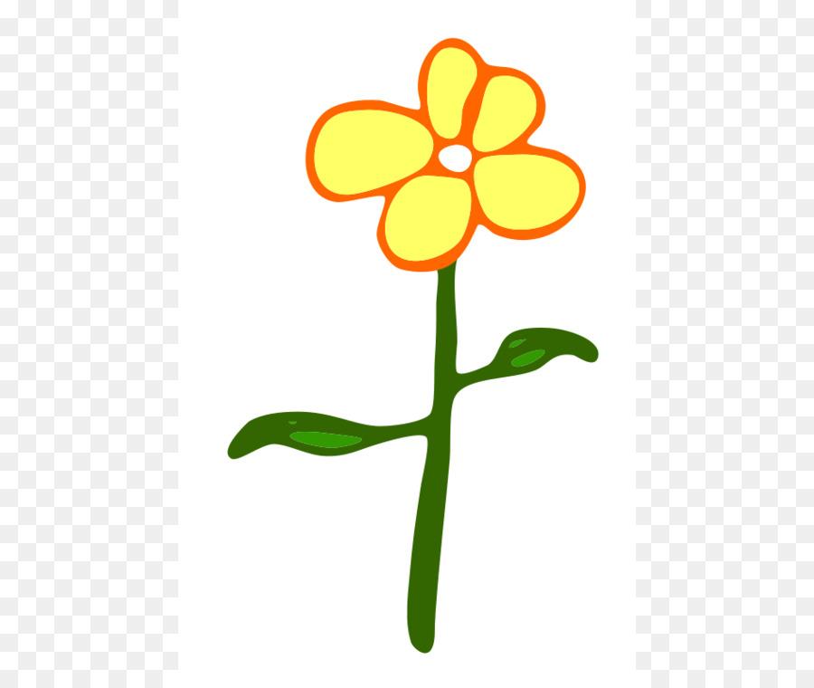 900x760 Flower Cartoon Yellow Clip Art