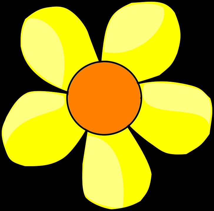 727x720 Petal Clipart Yellow Daisy