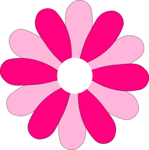 297x299 Pink Gerber Daisy Clip Art