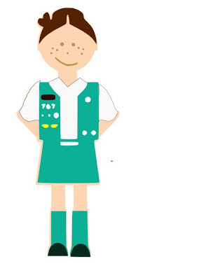 294x400 Girl Scout Junior Clip Art Clipart Pictures