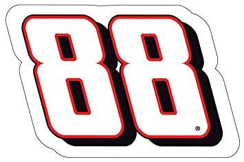 355x236 88 Nascar 2 Pack Jumbo Number Magnet Dale Earnhardt Jr 2 Pack