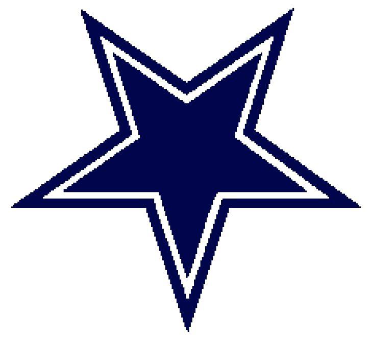 729x672 Dallas Cowboys Star Coloring Page Logo Clip Art Free – vonsurroquen.me