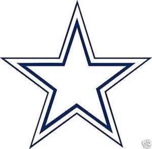 500x490 Dallas Cowboys Wall Decal eBay