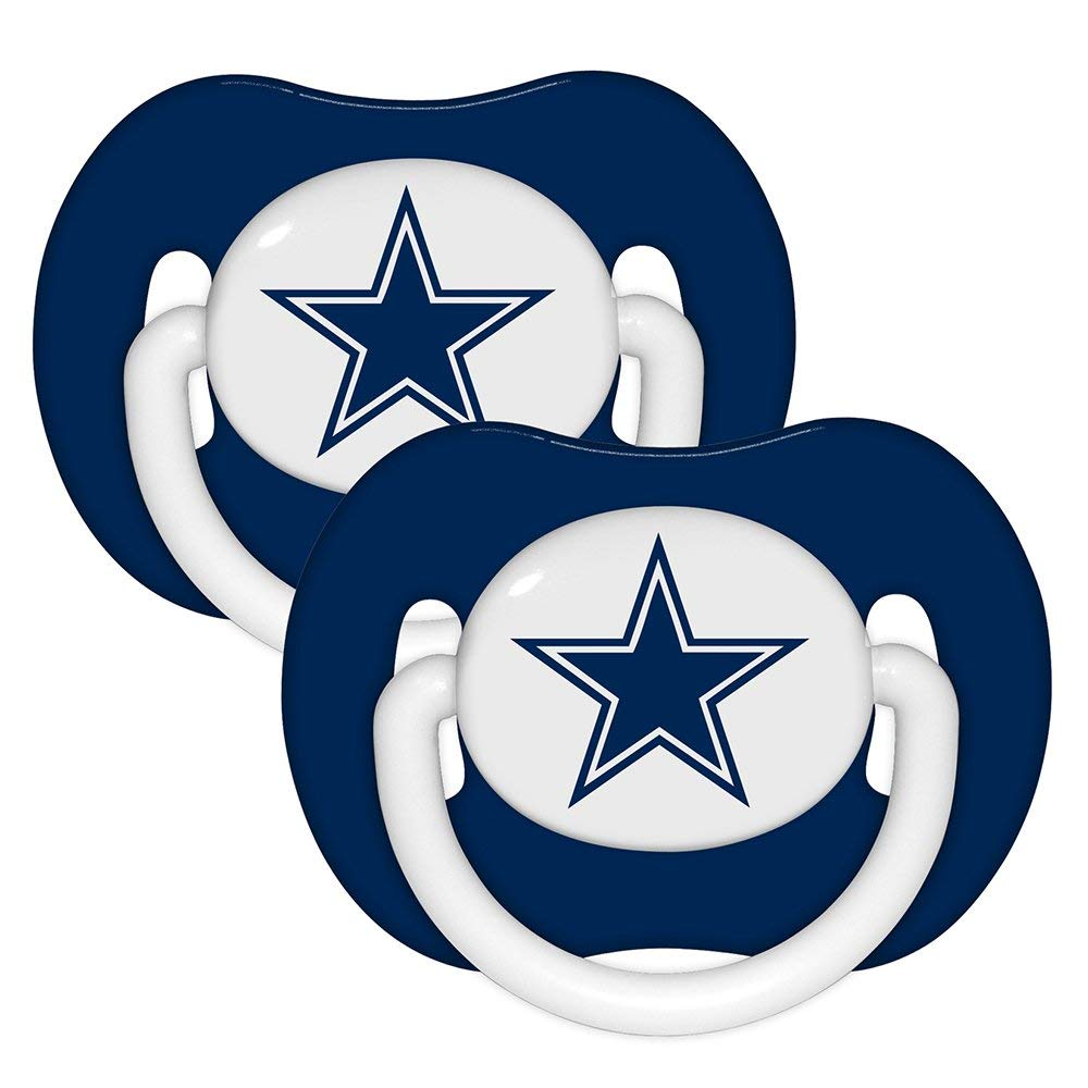 1000x1000 NFL Dallas Cowboys 2 Pack Pacifier Sports Fan