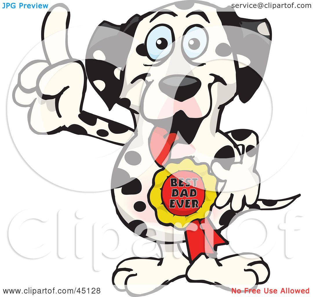 1080x1024 Royalty Free RF Clipart Illustration Of A Dalmatian Dog