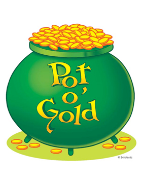 282x365 Pot O' Gold Printable Clip Art And Images
