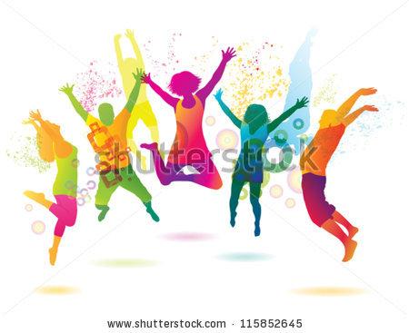 450x367 Zumba Dance Party Clipart