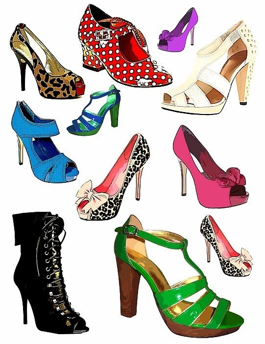 Dance Shoes Clipart