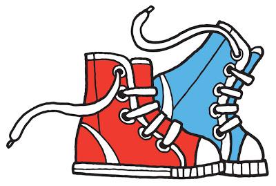 400x269 Tennis Shoe Clipart
