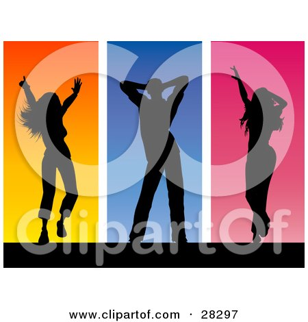 450x470 Royalty Free (Rf) Dance Team Clipart, Illustrations, Vector