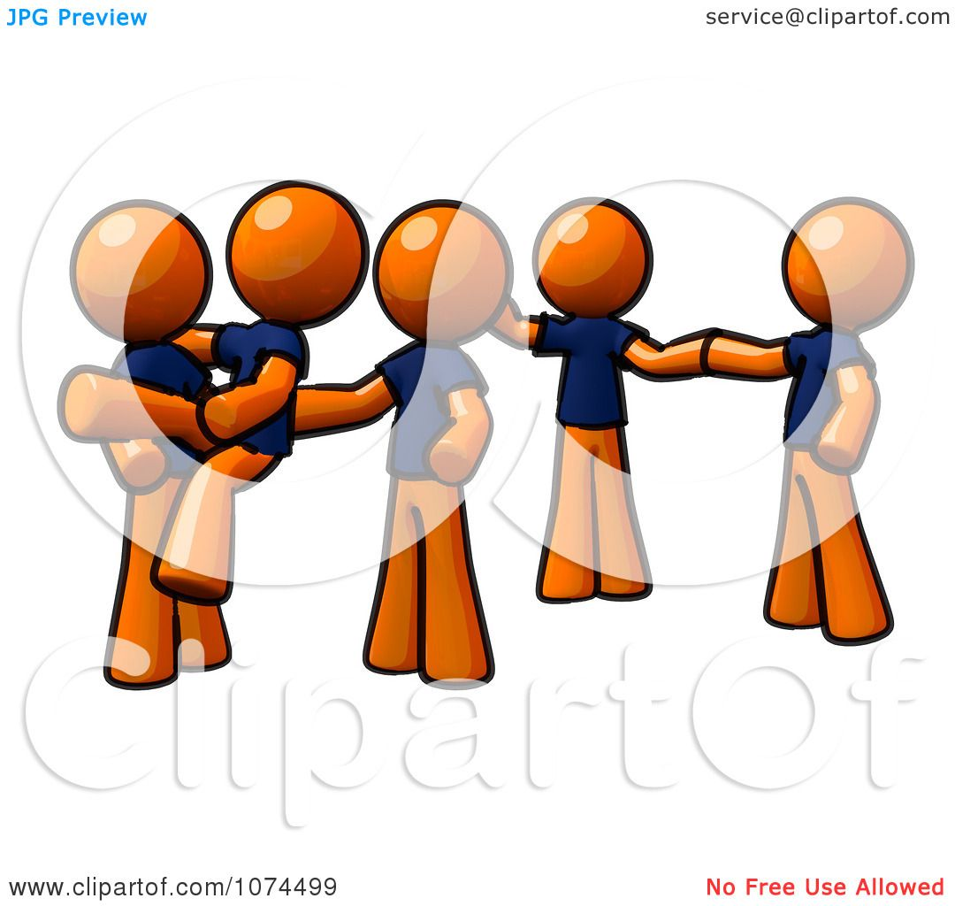 1080x1024 Clipart Orange Man Instructing A Dance Team