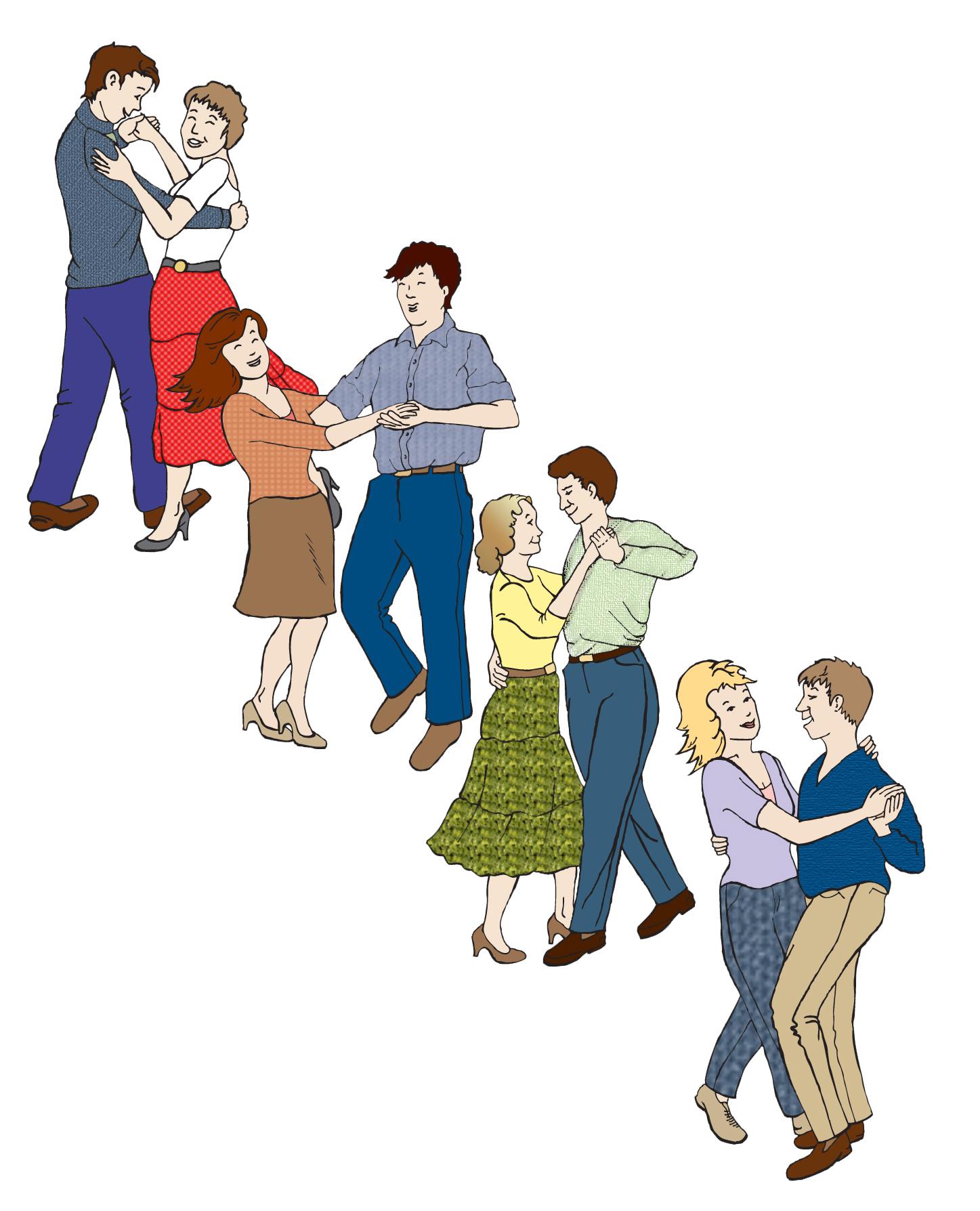 1447x1788 Clipart Square Dance Line Dance Clipart