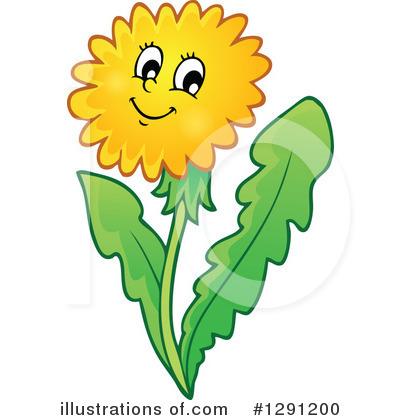 400x420 Dandelion Clipart