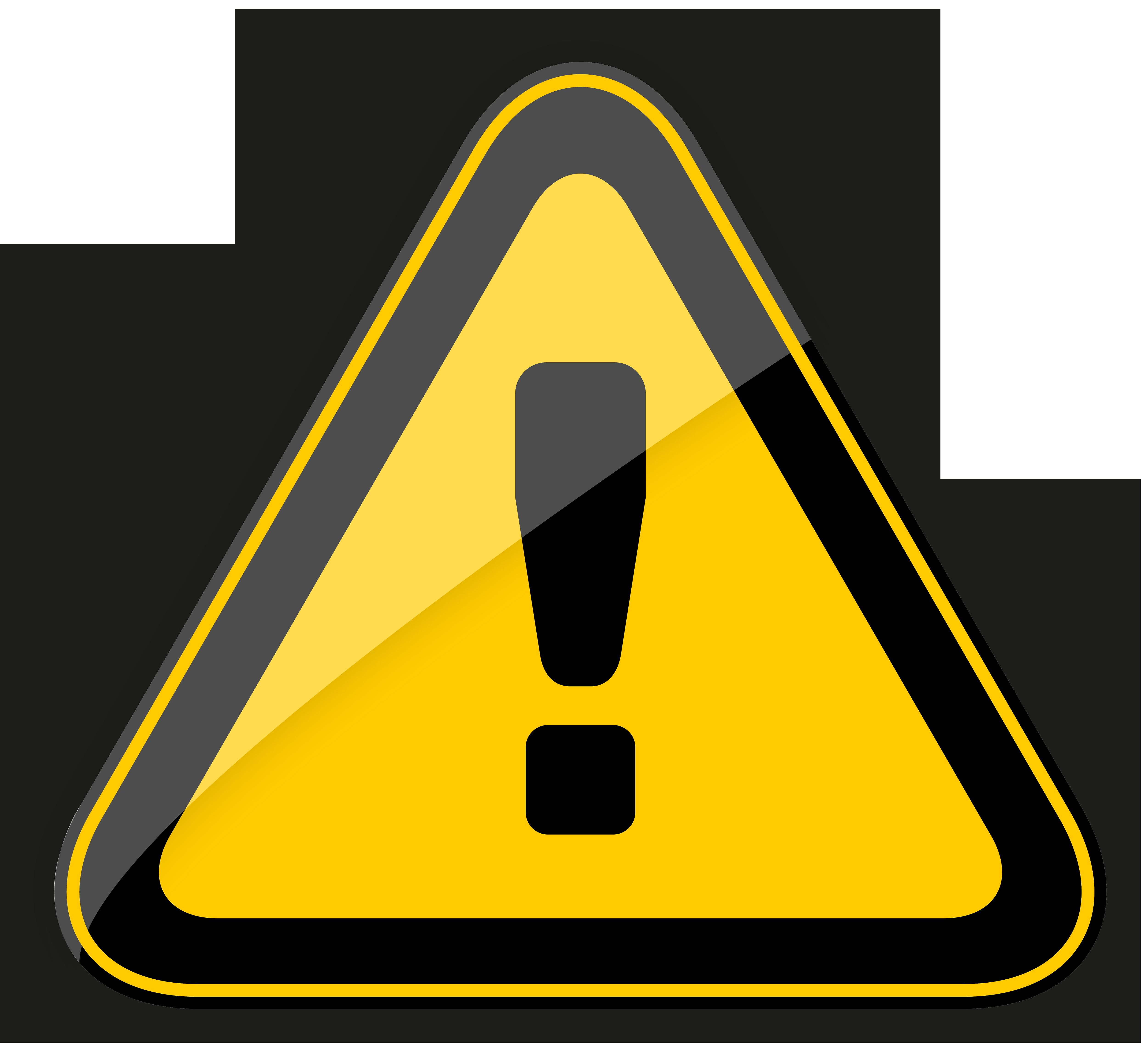 5000x4579 Danger Warning Sign Png Clipart