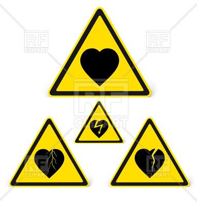 383x400 Danger Sign