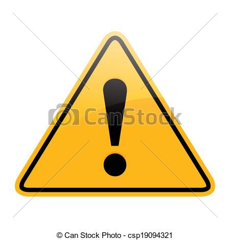 450x470 Danger Sign Clip Art