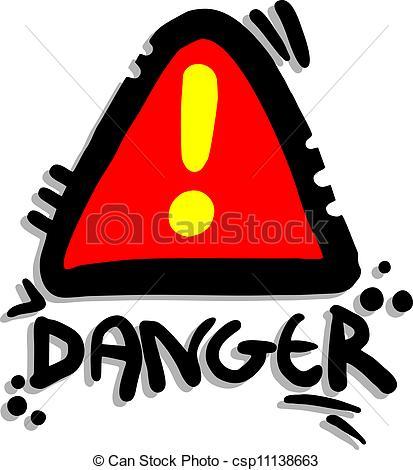 413x470 Signal Danger. Creative Design Of Signal Danger.