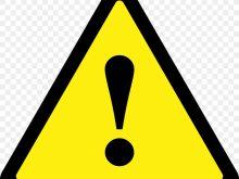 220x165 Warning Sign Clipart Vector Danger Warning Sign Vector Clip Art