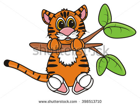 450x339 Clipart Tiger Hanging From Tree Amp Clip Art Tiger Hanging From Tree