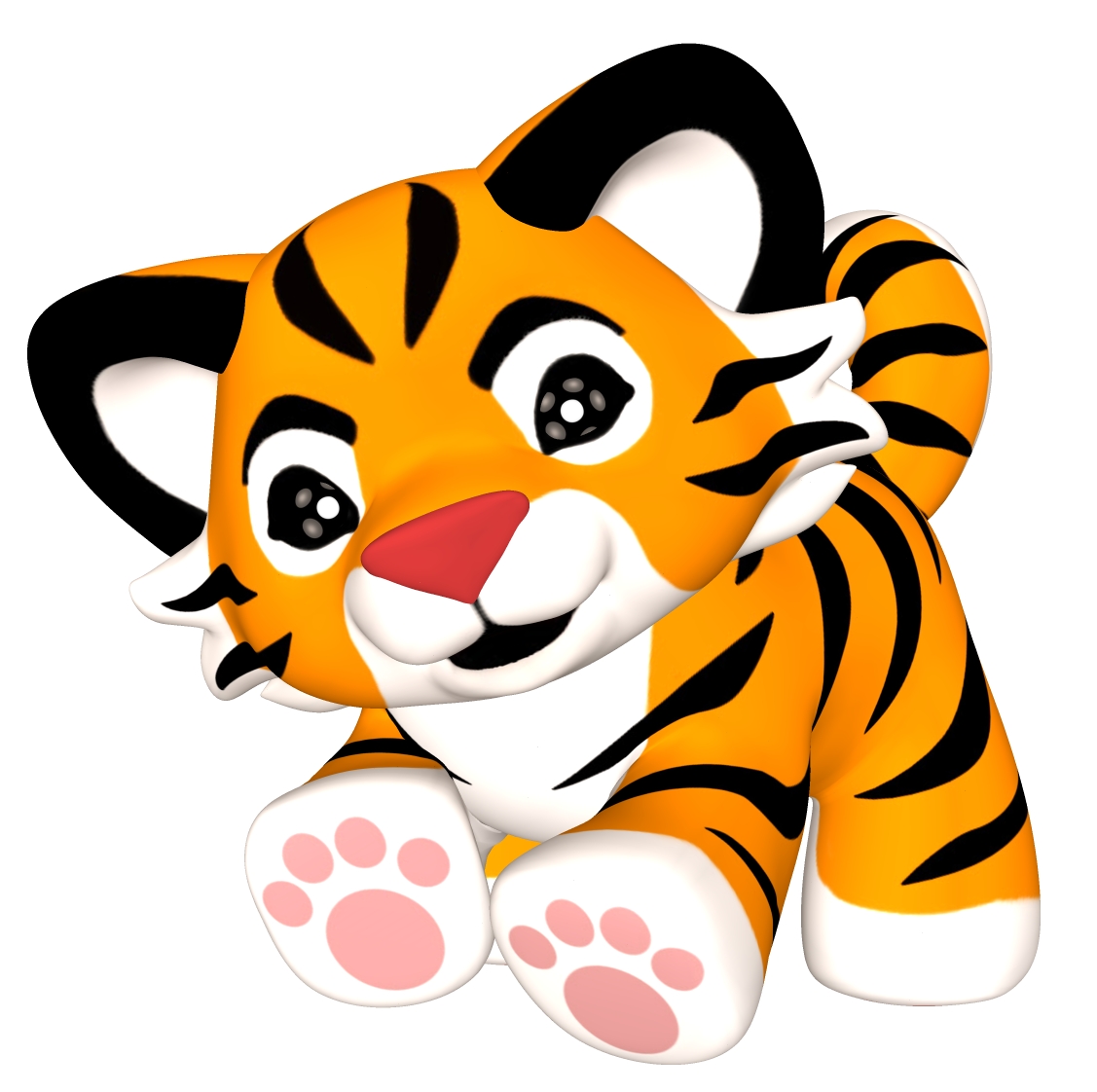1127x1122 Tiger Clip Art Animals Wild Cats 3 Clipart Png