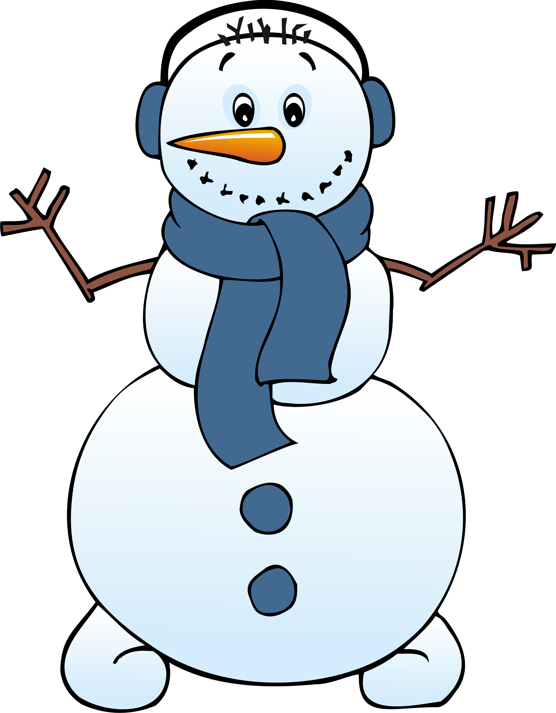 1920x2459 Frosty The Snowman Snow Woman In A Bikini And Another Man Clipart