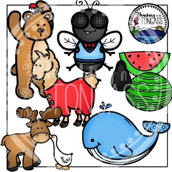 350x350 Down By The Bay Clipart Watermelon Slices And Moose