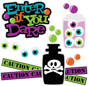 300x293 Enter If You Dare Svg Scrapbook Collection Halloween Svg Files