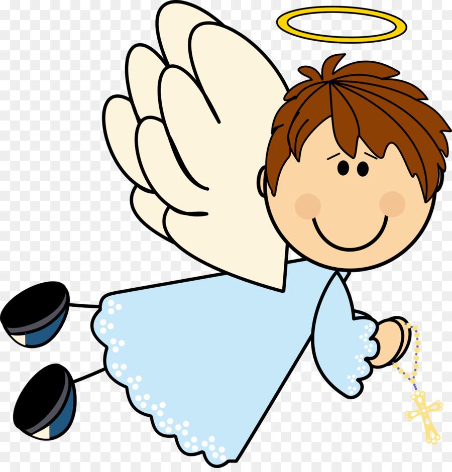 900x940 Baptism First Communion Angel Child Clip Art