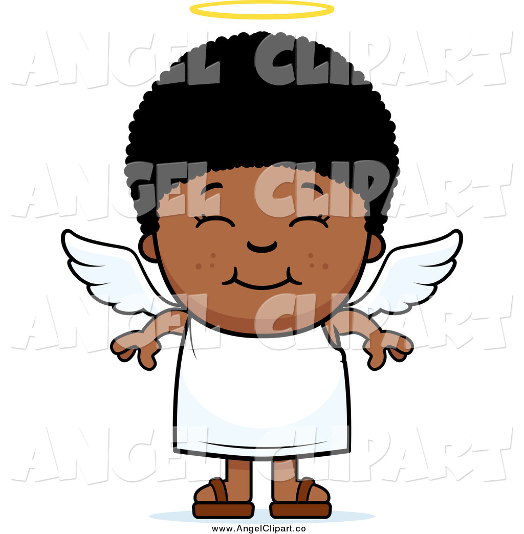 1024x1044 Black Angel Clipart