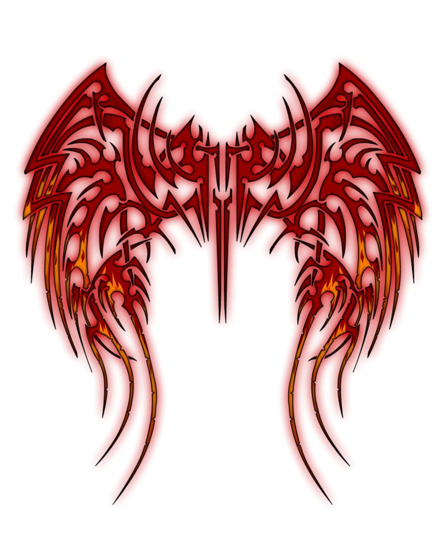 900x1113 Fallen Angel Clipart Cross Wings