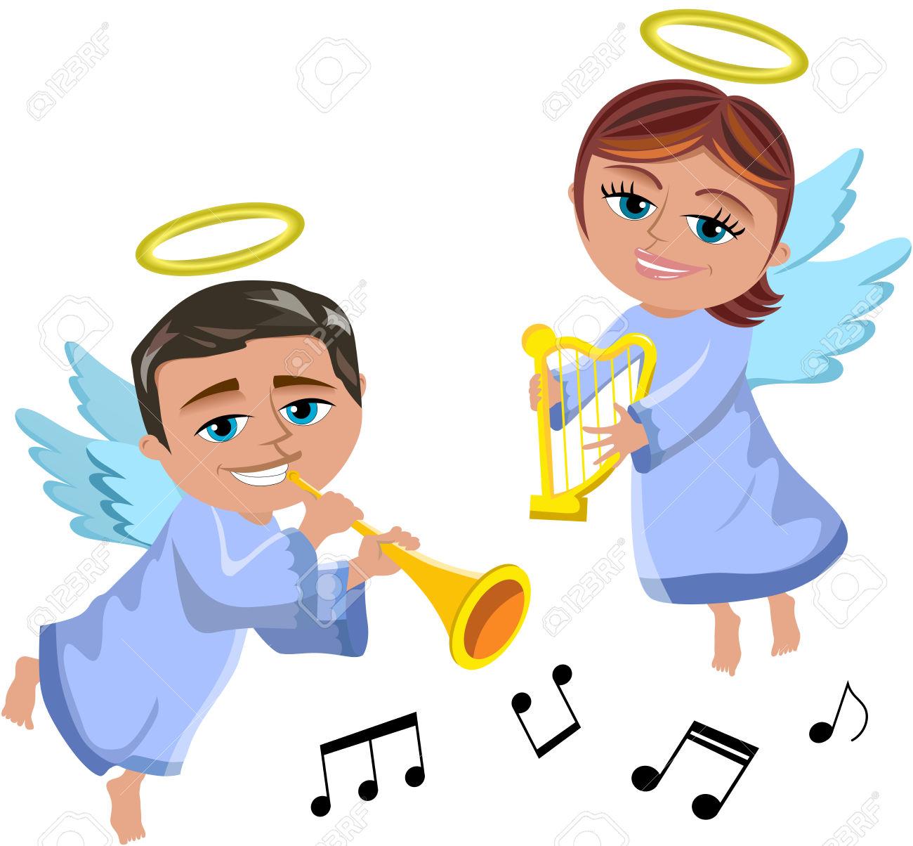 1300x1204 Christmas Harp Music Free Clipart