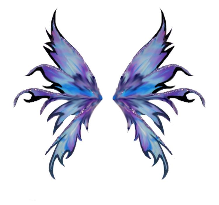 750x702 Dark Fairy Wings Drawing. F.u.s.e Corp Special Girarnala By